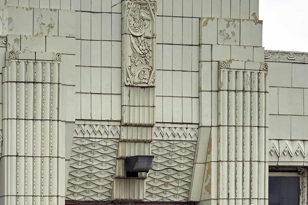 The old Coca-Cola bottling plant in Indianapolis, Indiana.